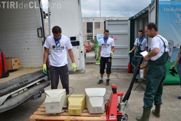 O nouă acţiune de colectare a deşeurilor de echipamente electrice şi electronice la Cluj