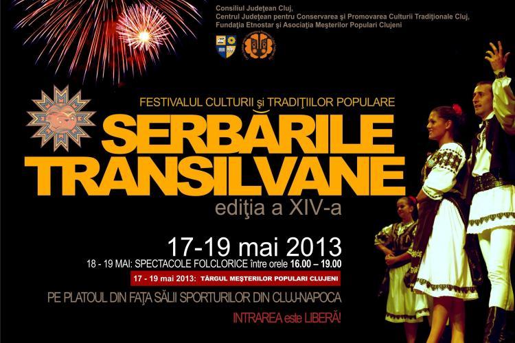 """Festivalul """"Serbările Transilvane"""", in 17-19 mai, la Sala Sporturilor din Cluj-Napoca"""