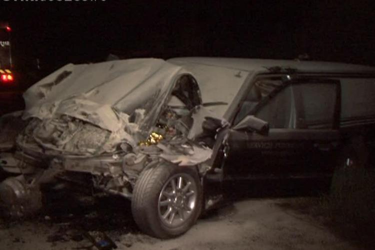 Accident la Poieni! Șoferul unei mașini de pompe funebre din Cluj-Napoca, mort într-un accident pe DN 1 - VIDEO