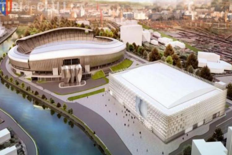 Sala Polivalentă din Cluj, mai scumpă cu 13 milioane de lei faţă de prima licitaţie