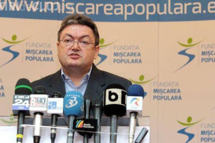 Marian Preda, preşedintele Mişcării Populare: Vrem o Românie cu fruntea sus, nu cu mâna întinsă - INTERVIU