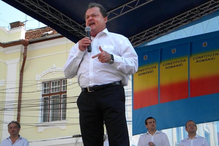 Vasile Blaga a declarat la Cluj că PDL va prezenta soluții pentru dezvoltarea socio - economică a României