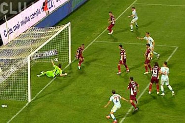 A fost gol la meciul CFR - Steaua? - FOTO
