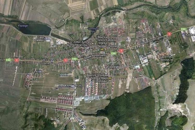 Floreștiul era în 2000 o zonă verde. Imaginile din satelit în care se vede BOOM -ul imobiliar din 2007 - 2008
