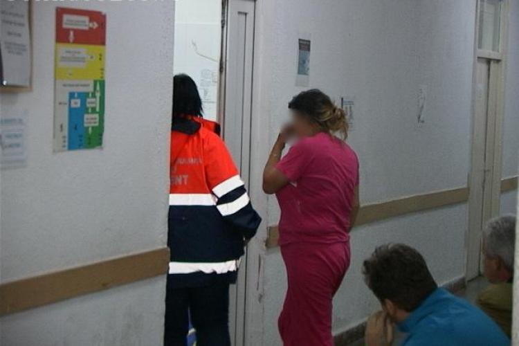 Tentativă de suicid într-un sat din Cluj. O femeie a vrut să se omoare după o ceartă cu soțul VIDEO