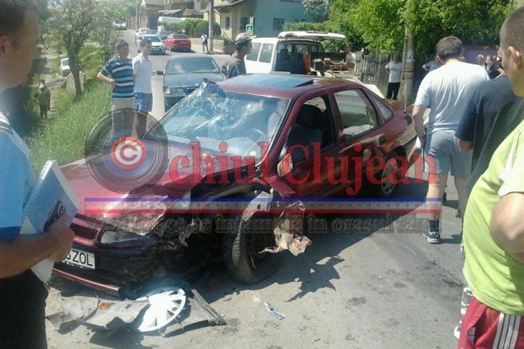 Accident pe strada Partizanilor! Un șofer beat circula pe contrasens și s-a izbit de o mașină