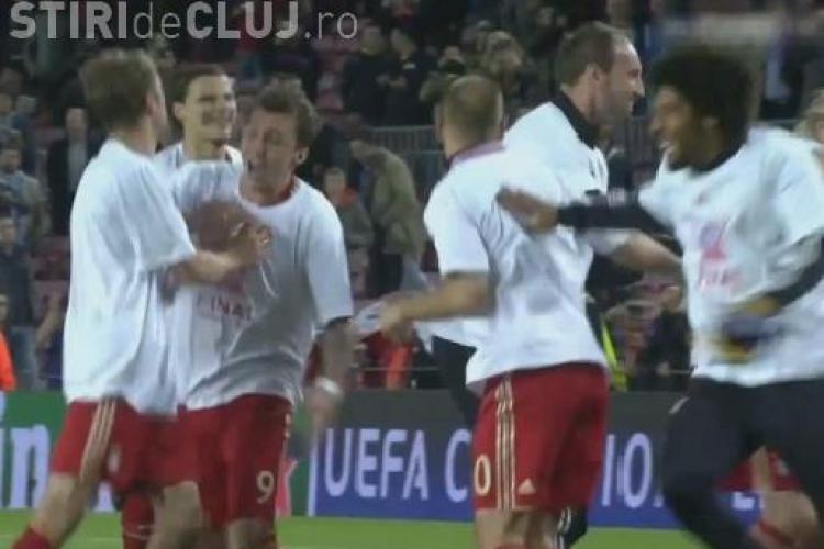 CLIPUL ZILEI: Gestul SPECTACULOS al jucătorilor de la Bayern după victoria de pe Camp Nou VIDEO