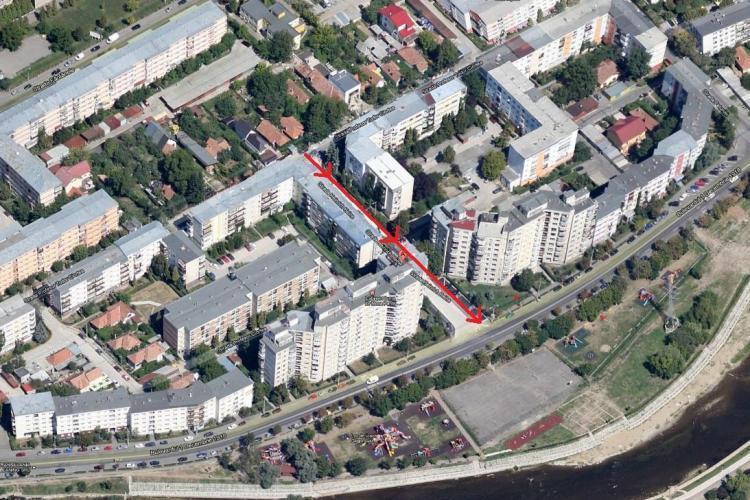 Sens unic de circulaţie în cartierul Grigorescu, pe strada Heinrich Heine
