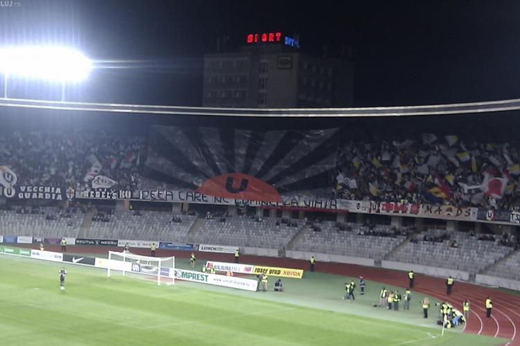 U Cluj - Petrolul Ploiești - 45 de suporteri au interdicție