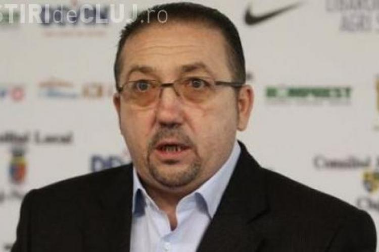 Walter susține că a făcut cadou 10 milioane de lei pentru a salva U Cluj