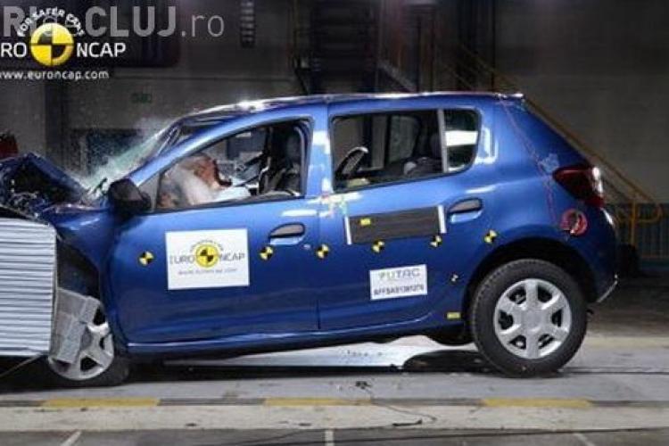Noul Sandero este cea mai sigură Dacie din istorie! Câte stele a luat la testele Euro NCAP