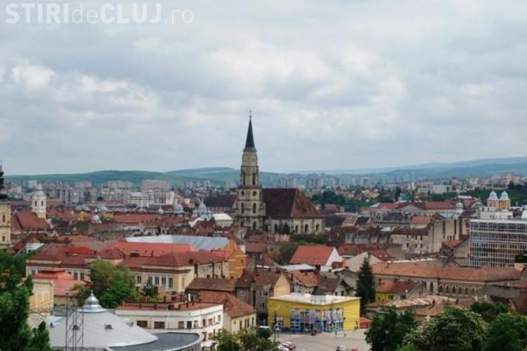 1.000 de clădiri din centrul Clujului vor fi faţadizate cu FORŢA, dacă proprietarii se opun!