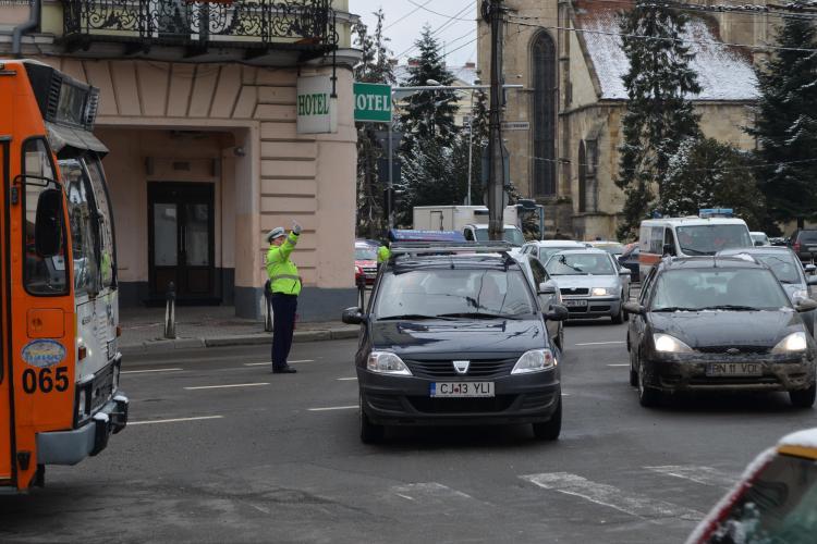 Polițiștii ies în trafic la Zilele Clujului. Ce străzi vor fi blocate traficului
