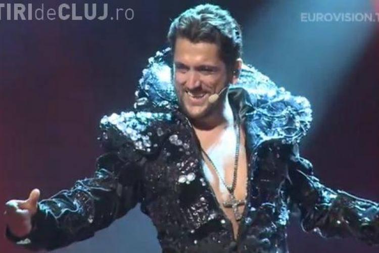 Cezar Ouatu, preferatul homosexualilor la Eurovision