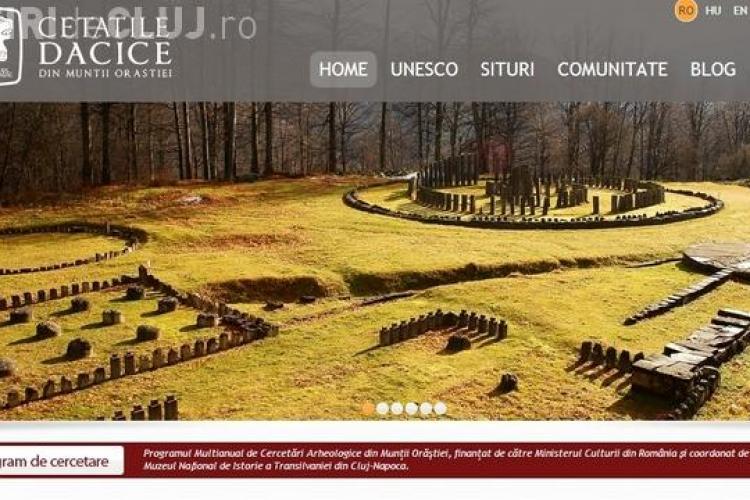 Muzeul de Istorie din Cluj a lansat un site despre cetățile dacice