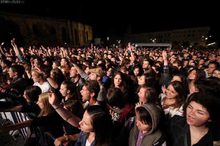ZILELE CLUJULUI 2013 - Marți, 28 mai: Ziua culinară maghiară și concerte în Piața Unirii