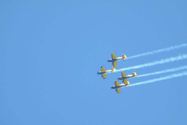 Mitingul Aerian de la Aeroportul Cluj a încântat peste 2.000 de oameni - VIDEO