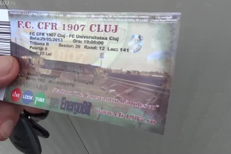 """CFR Cluj, acuzată de ILEGALITĂȚI la meciul cu U Cluj: """"Vând bilete numai după scanarea buletinelor. Când ne vor lua și amprente?"""""""