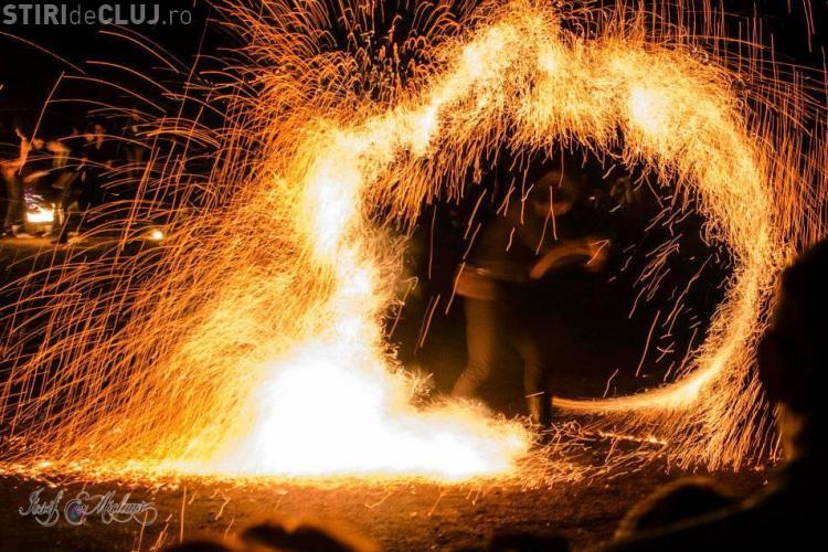 Jonglerii cu foc la Festivalul Luminii 2013 - FOTO UIMITOARE