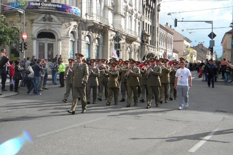 Parada Sportivilor a deschis oficial Zilele Clujului 2013 - FOTO