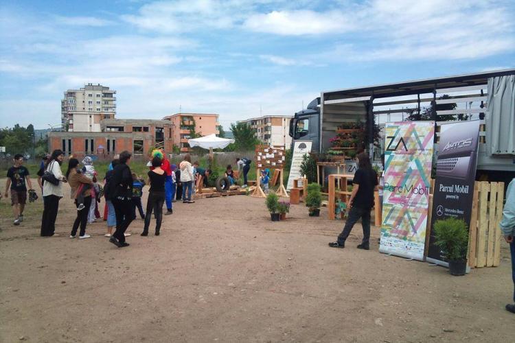 Parcul mobil realizat pentru Zilele Arhitecturii a pornit prin Cluj. Vezi care este programul