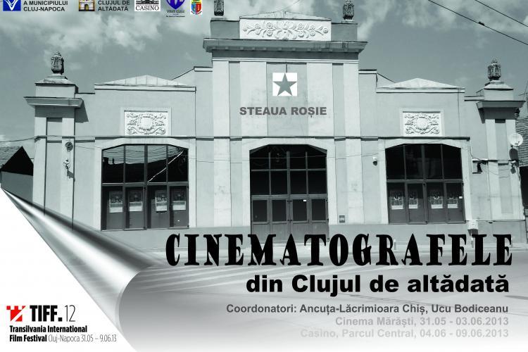 Cinematografele din Clujul de altădată prezentate într-o expoziție foto