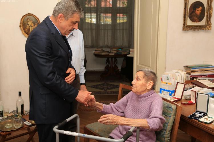 Doina Cornea a primit, de ziua ei, titlul de cetățean de onoare al județului Cluj - FOTO