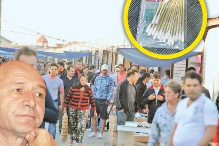 "Basescu s-a ""ranit"" cu un betisor de urechi care se gaseste numai la chinezi, in Dragonul Rosu"
