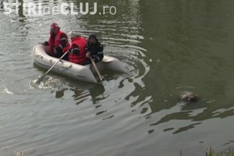 Barbatul gasit inecat luni in Somes, in localitatea Bunesti, este din Cluj-Napoca