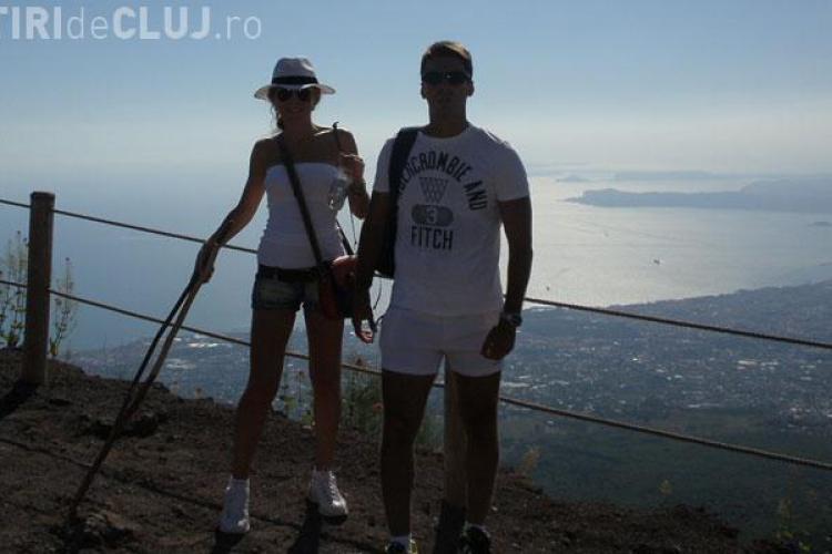 """Badea a vazut o """"Bruma"""" din Vezuviu si Insula Capri - FOTO"""