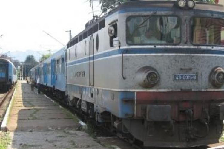 Trenul Constanta - Cluj a avut o intarziere de 9 ore ! In total calatoria a durat aproape 23 de ore !