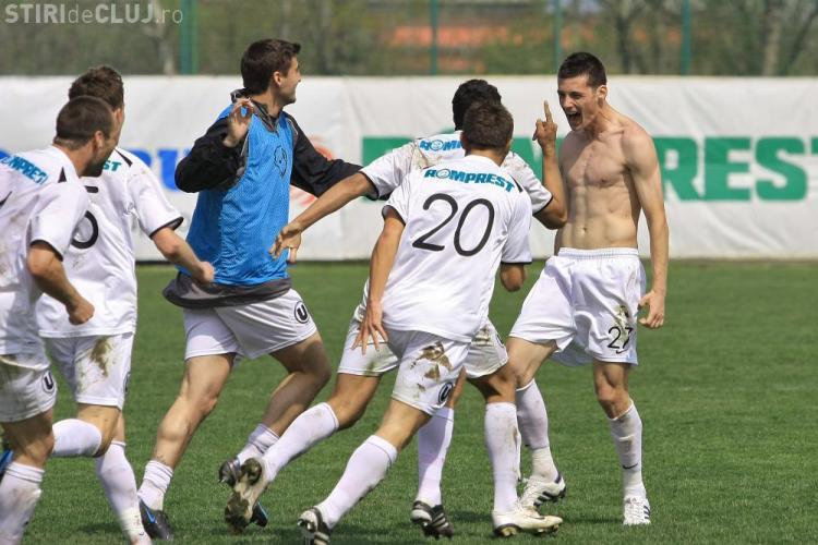 Unirea Urziceni-U Cluj 0-1. Clujenii castiga primul meci de la revenirea in Liga 1. VEZI GOLUL LUI LEMNARU