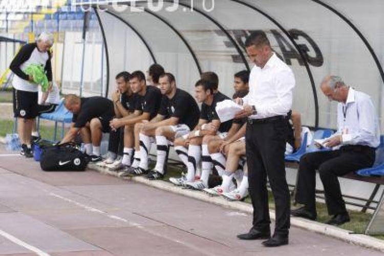 """Marian Pana, antrenorul U Cluj: """"Suntem pe drumul cel bun. Am invins cu putin noroc"""""""