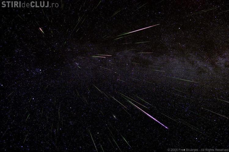 Ploaie de stele: Urmeaza doua nopti in care pot fi admirate Perseidele