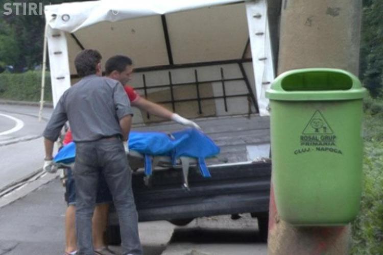 VIDEO: Cadavrul unui barbat a fost gasit pe o banca din Parcul Central din Cluj-Napoca- Galerie FOTO