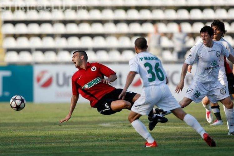 VEZI fazele controversate ale meciului Unirea Urziceni - U Cluj 0-1 - VIDEO