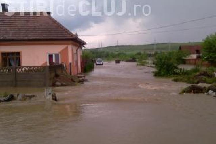 Avertizare de inundatii pentru judetul Cluj valabila pana miercuri