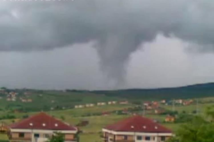 Vreme extrema la Cluj! Miercuri va ploua torential si va bate grindina