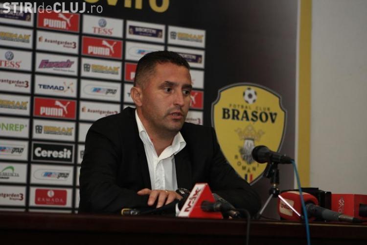 """Marian Pana, antrenor U Cluj, raspunde suporterilor: """"Dupa doua etape nu e cazul sa dramatizam, avem ocazia sa ne reabilitam"""""""