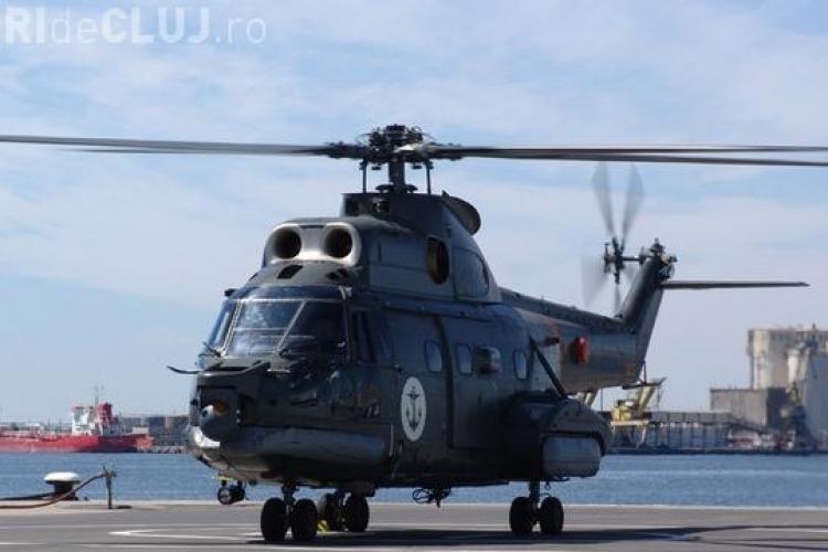 Elicopter prabusit la Fundata, judetul Brasov. Sapte militari erau la bordul aparatului