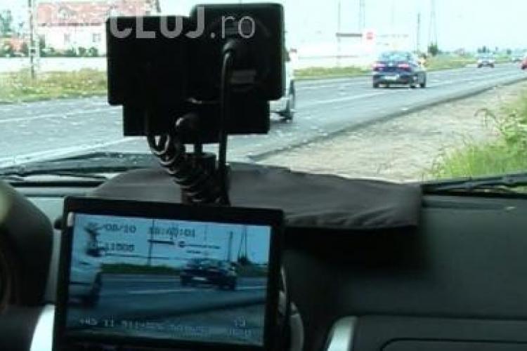 Sofer prins cu 230 de km/h pe un drum european