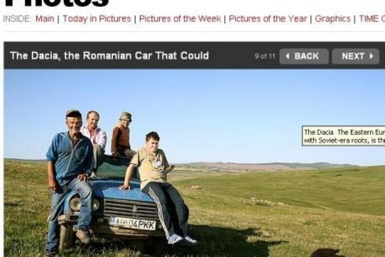 "Dacia, star in revista Time! Americanii vorbesc de bine ""masina romanului"" - Galerie FOTO"