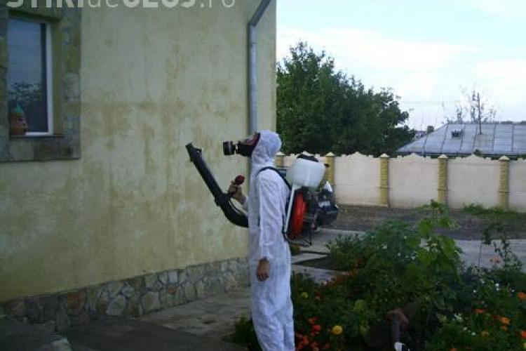 Dezinsectia continua in Cluj-Napoca in perioada 2-18 august