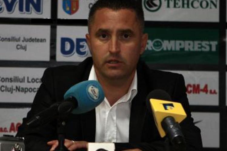 "Marian Pana, antrenorul U Cluj: ""Trebuie sa speculam problemele de la Urziceni"""