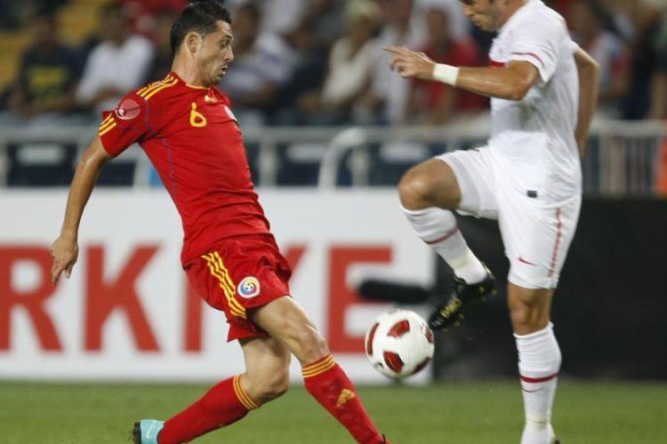 Romania - Turcia 0-2. Tricolorii s-au inecat la mal si au incasat doua goluri in finalul partidei
