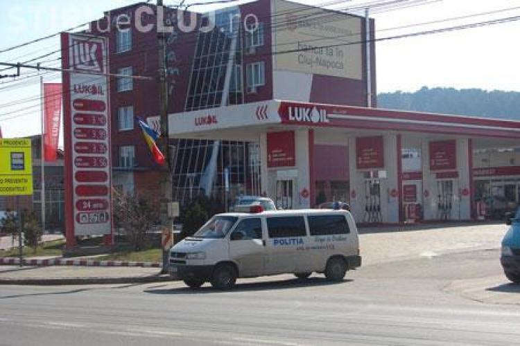 Jaful de la Lukoil, Manastur, a fost comis de Bogdan Baciu, suspectat si de atacul de la Banca Transilvania