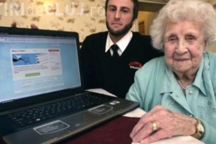 Cea mai batrana utilizatoare de Twitter din lume, Ivy Bean, a murit la 104 ani