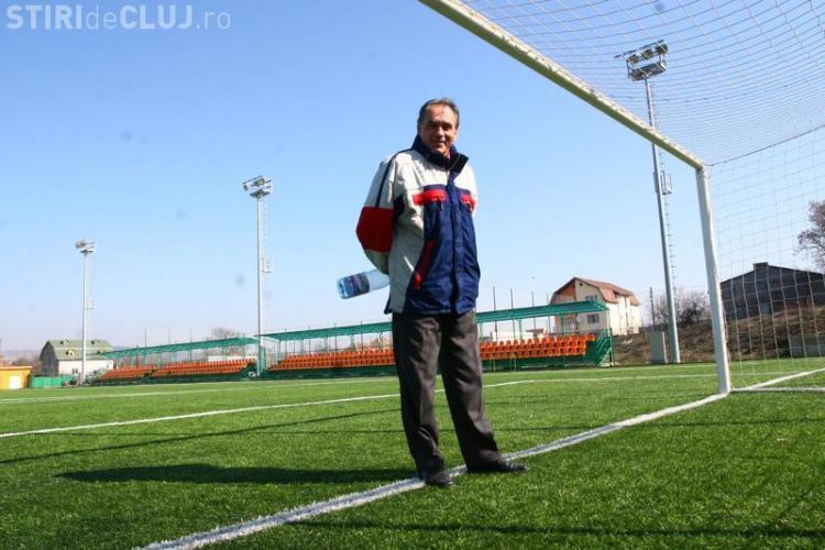 Mihai Georgescu, antrenor la centrul de copii si juniori de la U Cluj