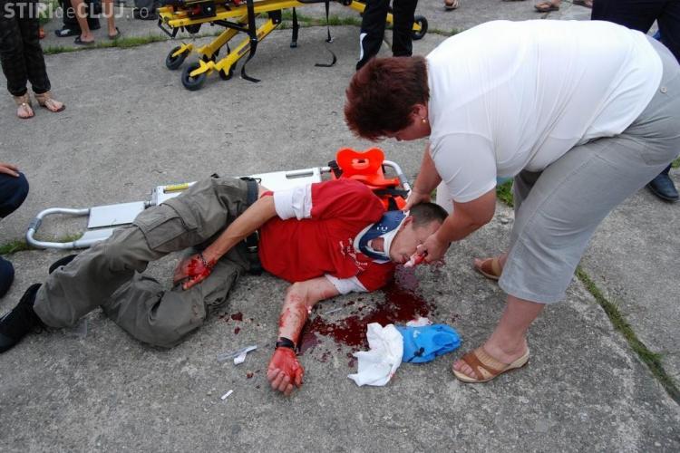 Fotografii dramatice de la accidentul de la Caransebes - GALERIE FOTO