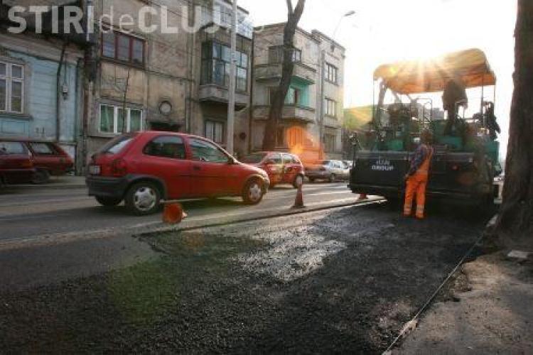 Strada Samuil Micu intra in reparatii de miercuri